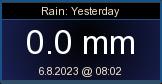 Eilinen sade