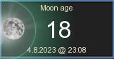 Kuun ikä